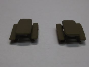 N Scale Picnic Tables - Pack of 2